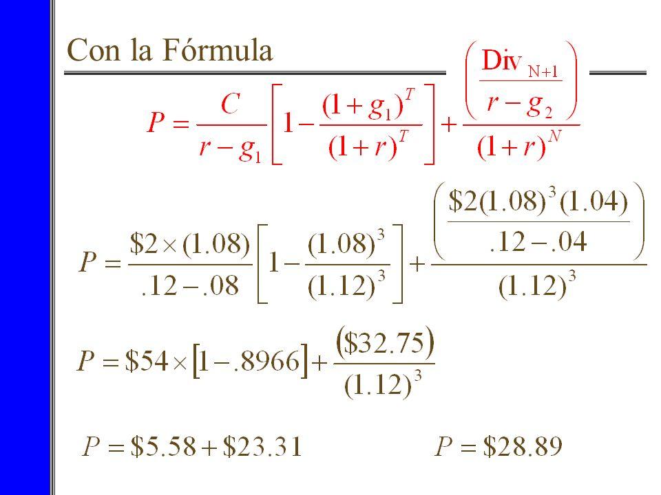 Con la Fórmula