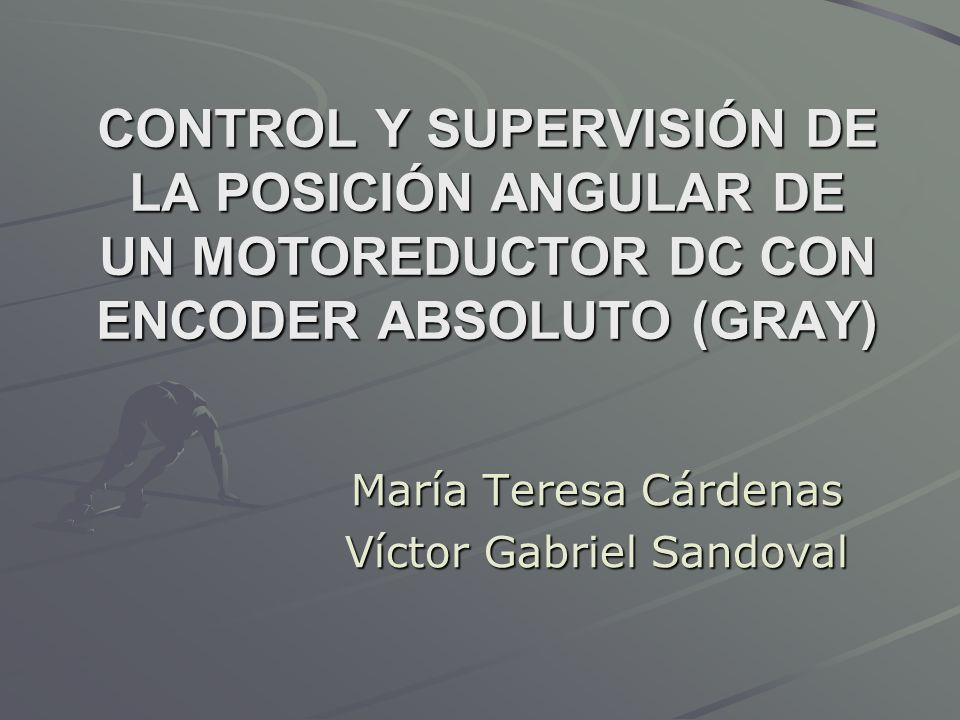 María Teresa Cárdenas Víctor Gabriel Sandoval