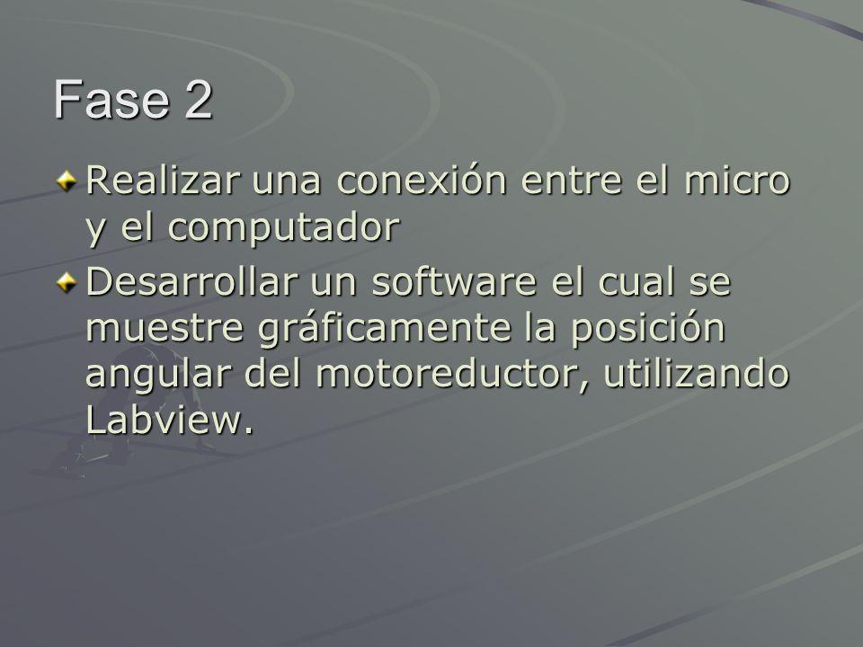 Fase 2 Realizar una conexión entre el micro y el computador