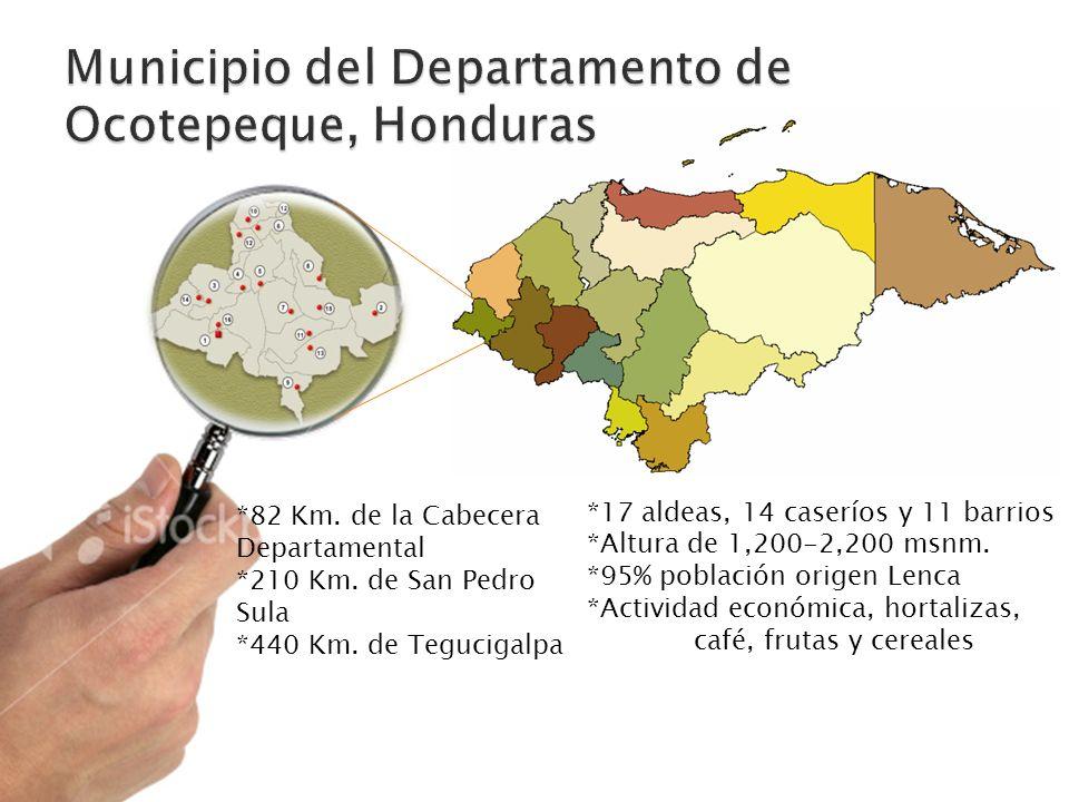 Municipio del Departamento de Ocotepeque, Honduras