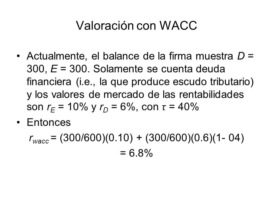 rwacc = (300/600)(0.10) + (300/600)(0.6)(1- 04)