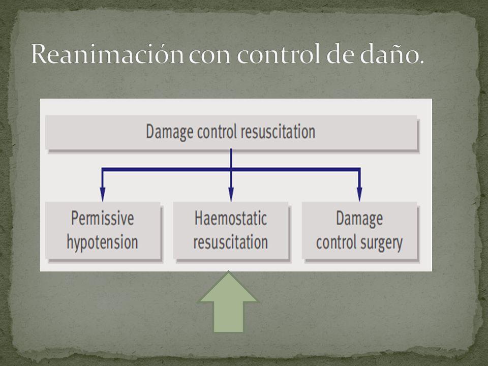 Reanimación con control de daño.