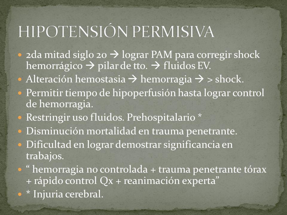 HIPOTENSIÓN PERMISIVA