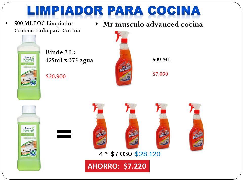 LIMPIADOR PARA COCINA Mr musculo advanced cocina cocina AHORRO: $7.220