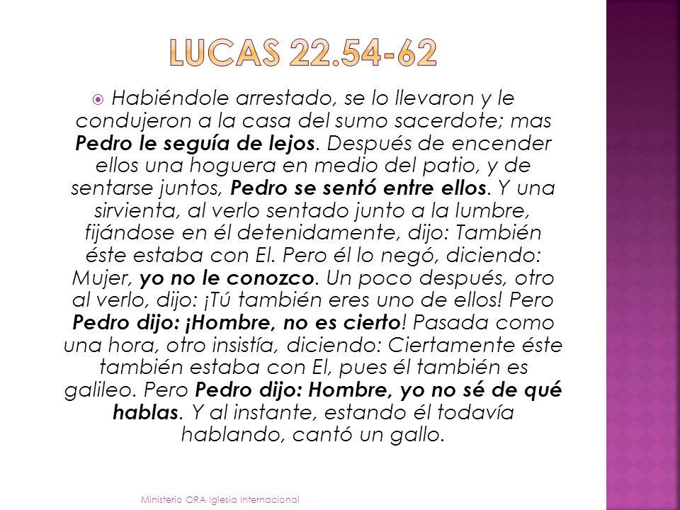 Lucas 22.54-62
