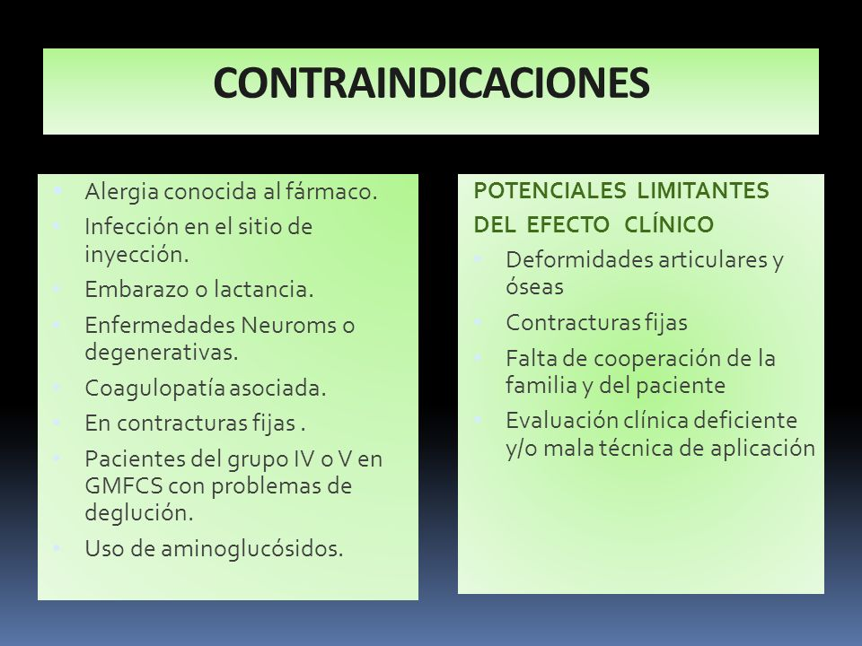CONTRAINDICACIONES Alergia conocida al fármaco.