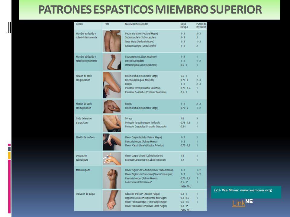 PATRONES ESPASTICOS MIEMBRO SUPERIOR
