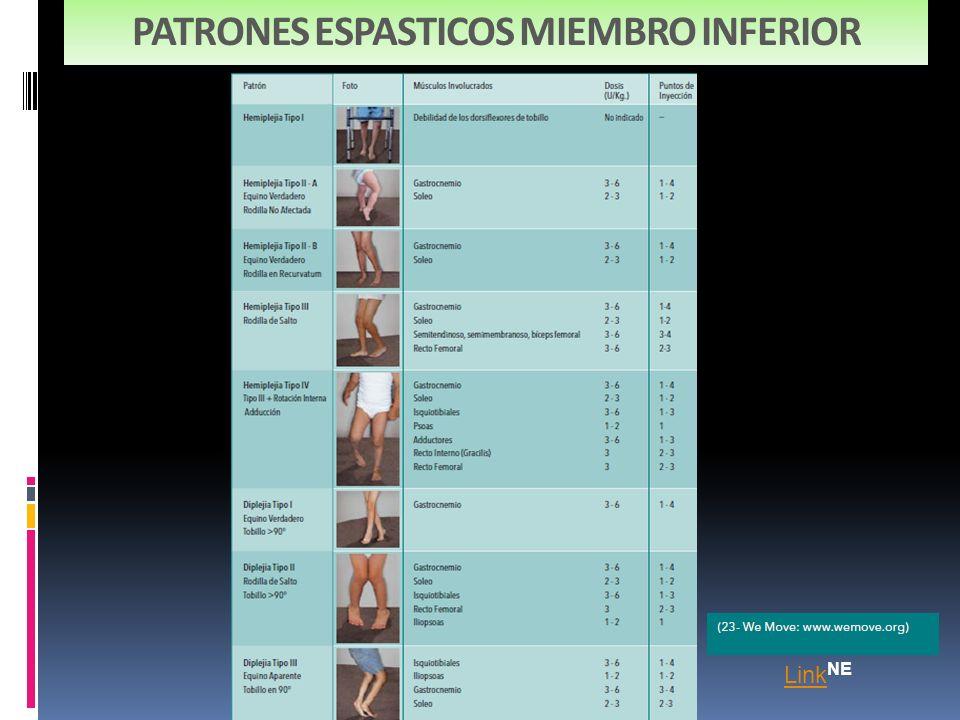 PATRONES ESPASTICOS MIEMBRO INFERIOR