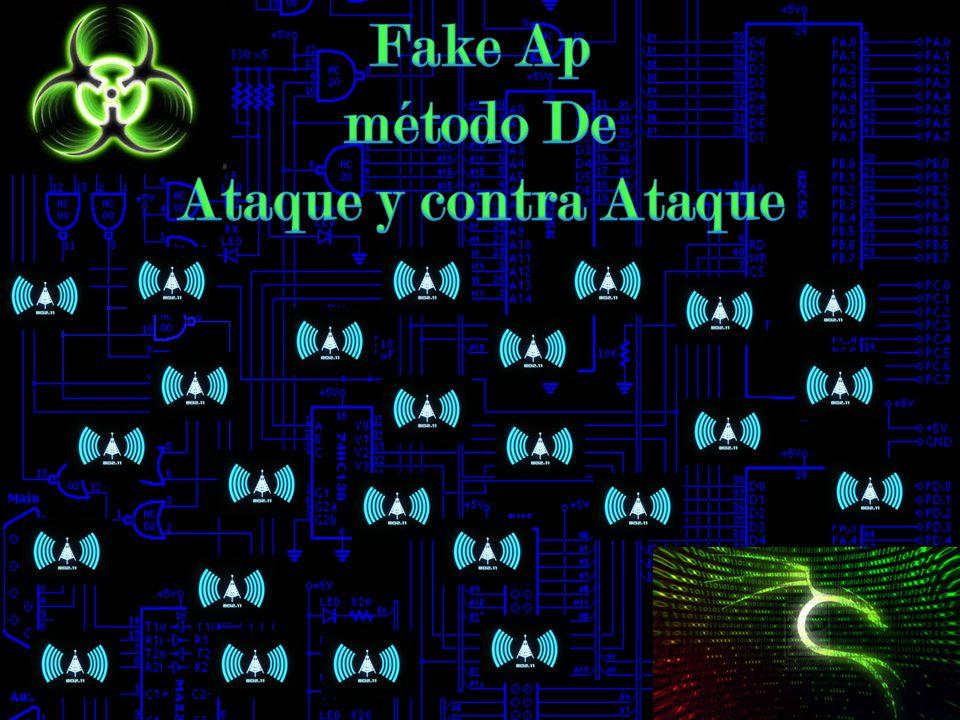 Fake Ap método De Ataque y contra Ataque