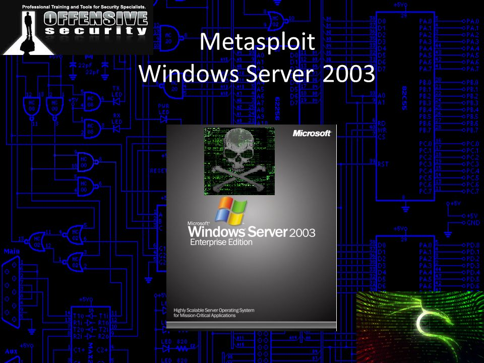Metasploit Windows Server 2003
