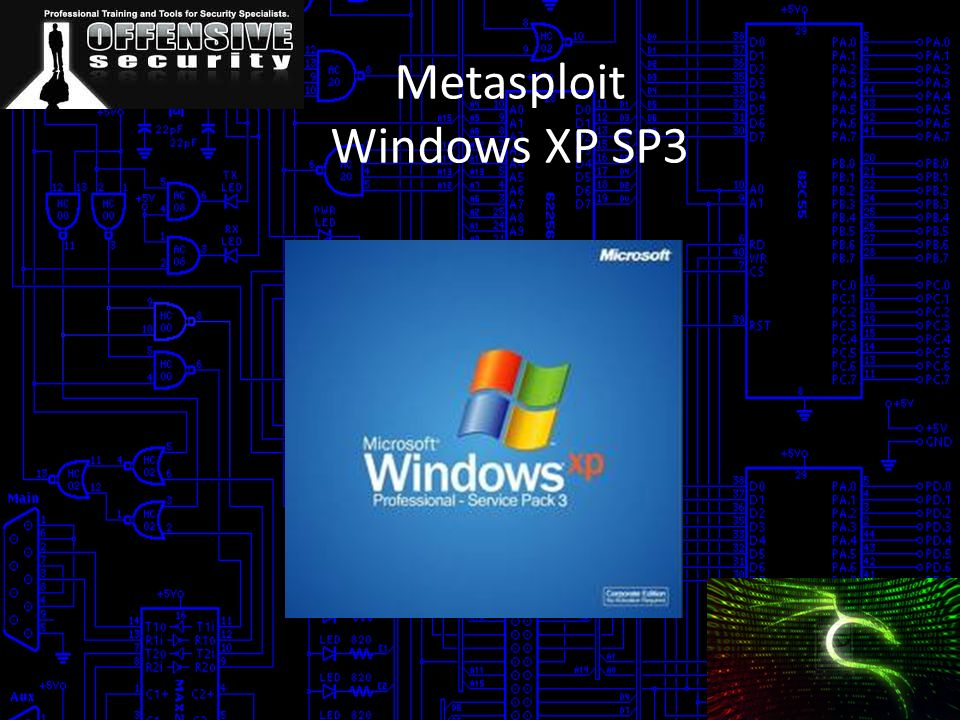 Metasploit Windows XP SP3