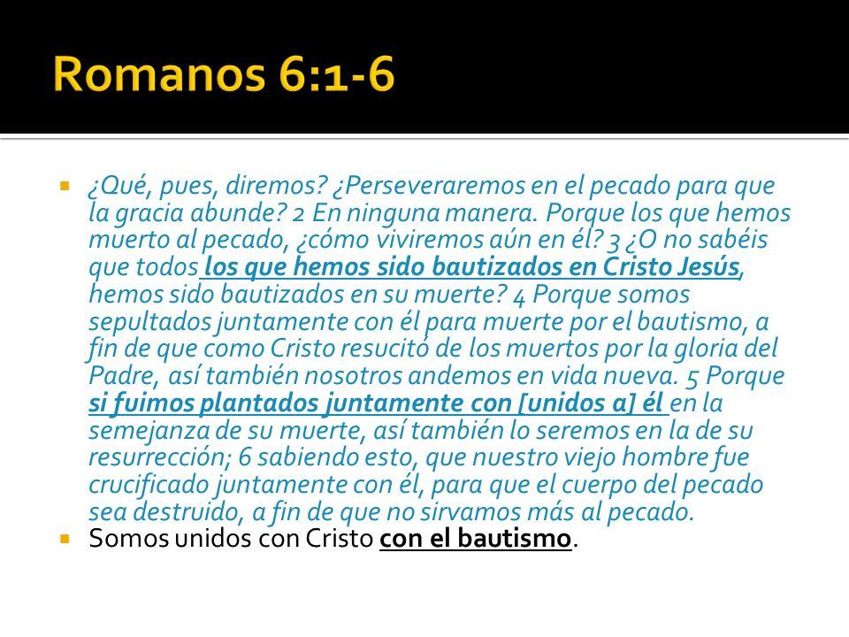 Romanos 6:1-6