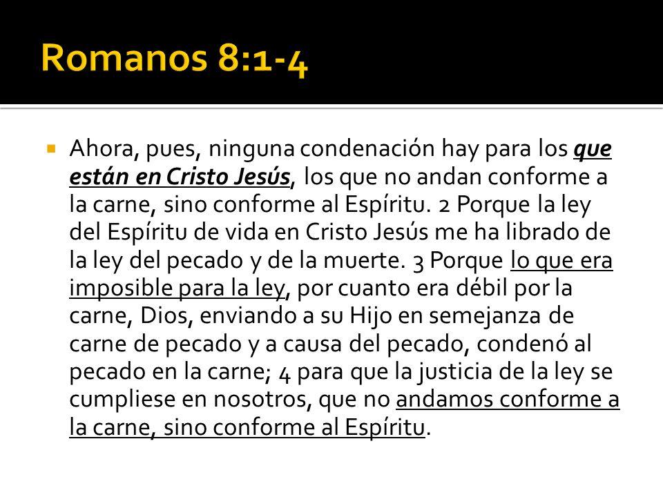 Romanos 8:1-4