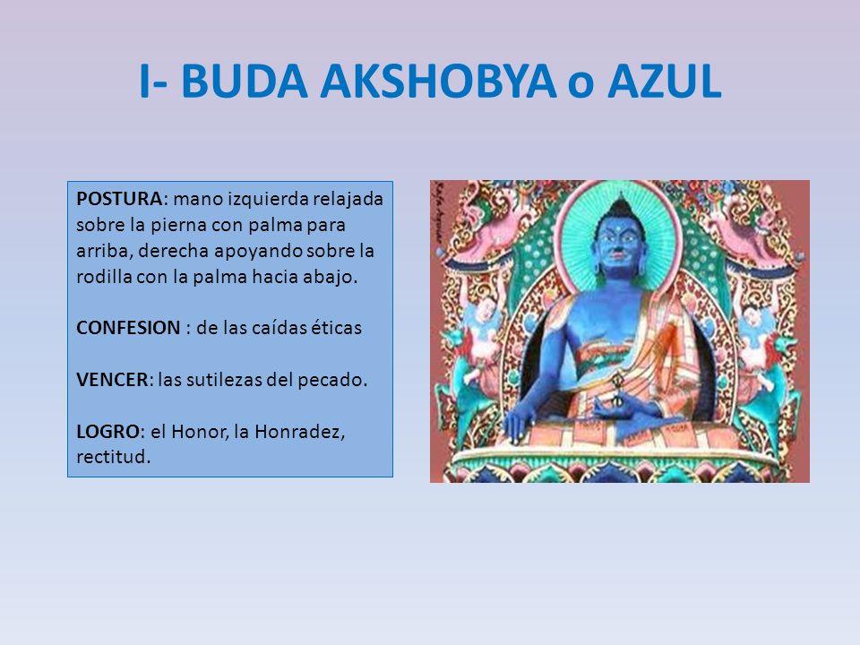 I- BUDA AKSHOBYA o AZUL