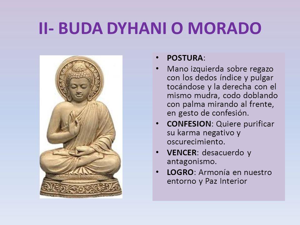 II- BUDA DYHANI O MORADO