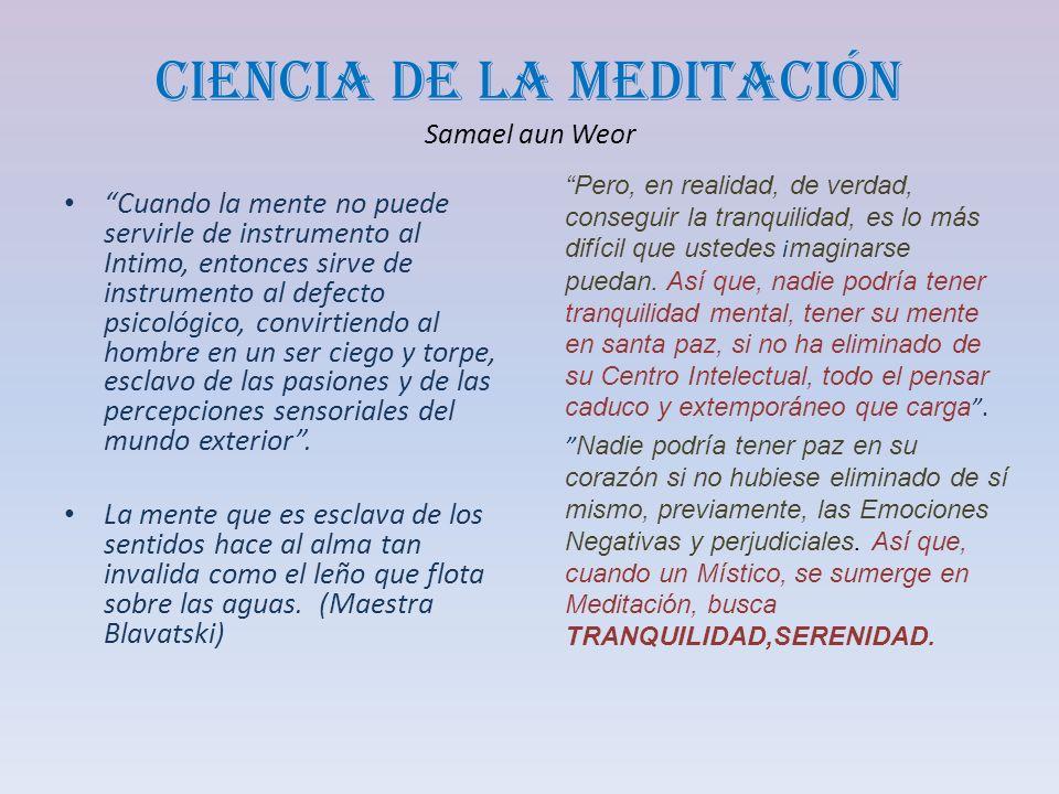 Ciencia de la Meditación Samael aun Weor