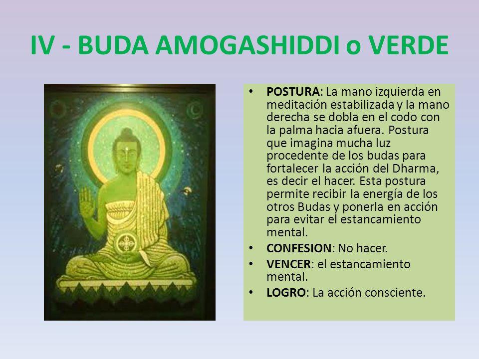 IV - BUDA AMOGASHIDDI o VERDE