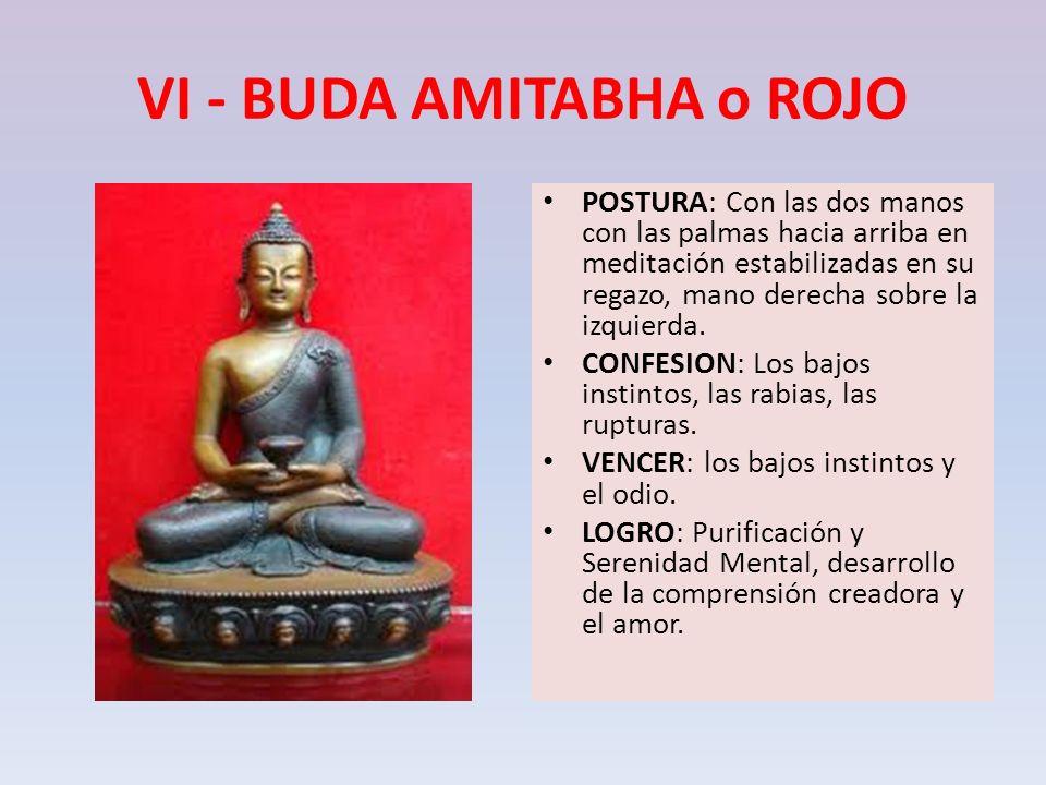 VI - BUDA AMITABHA o ROJO