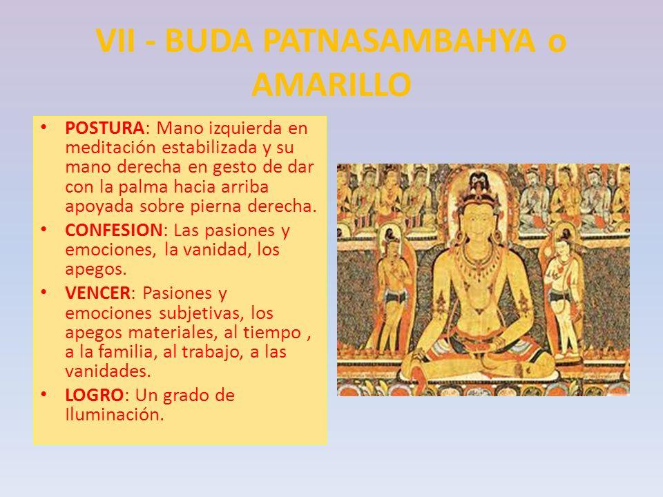 VII - BUDA PATNASAMBAHYA o AMARILLO