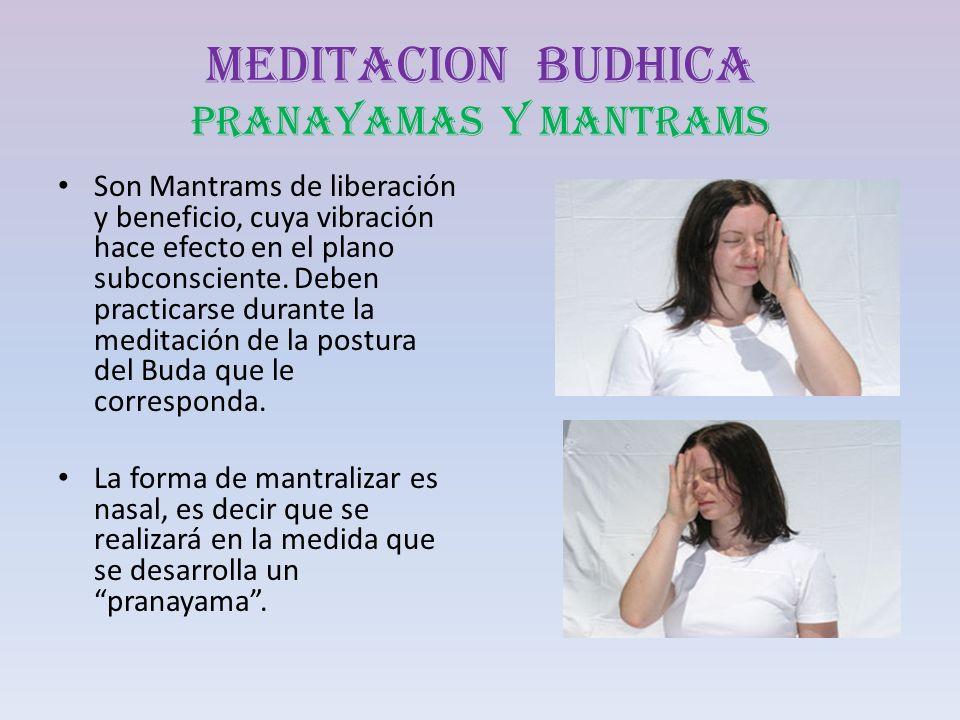 MEDITACION BUDHICA PRANAYAMAS Y MANTRAMS