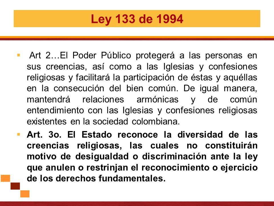 Ley 133 de 1994