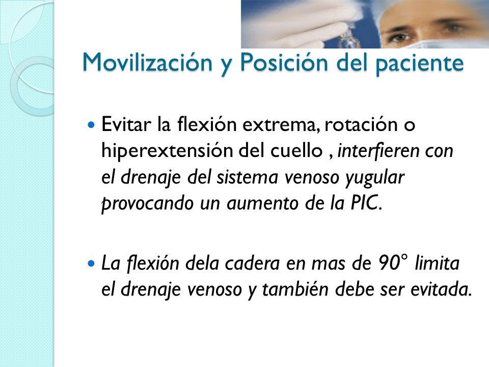 Movilización y Posición del paciente