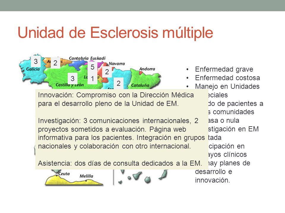 Unidad de Esclerosis múltiple