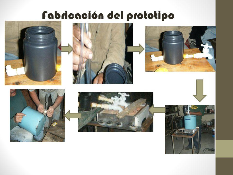 Fabricación del prototipo