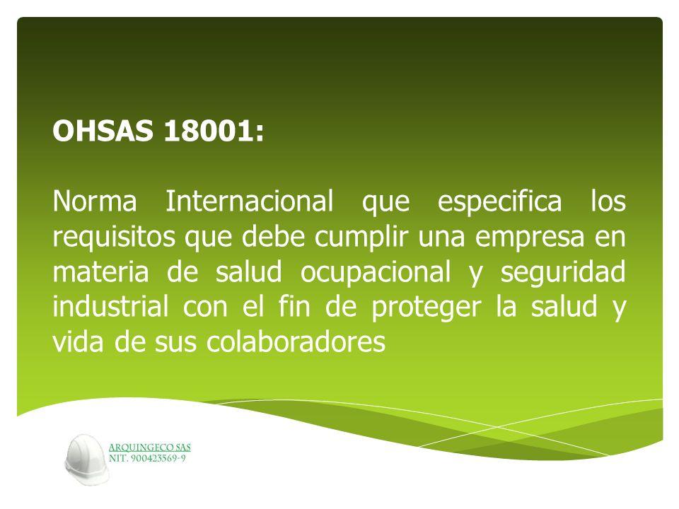 OHSAS 18001: