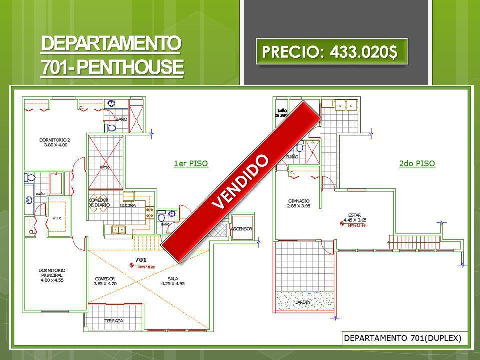 DEPARTAMENTO 701- PENTHOUSE