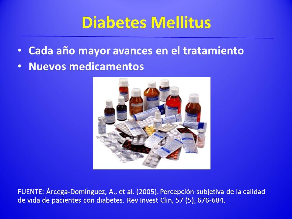 Diabetes Mellitus Cada año mayor avances en el tratamiento