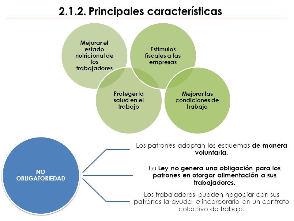 2.1.2. Principales características
