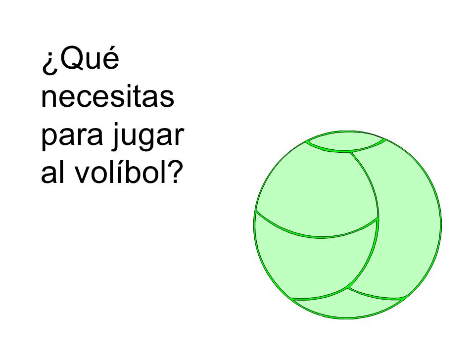 ¿Qué necesitas para jugar al volíbol