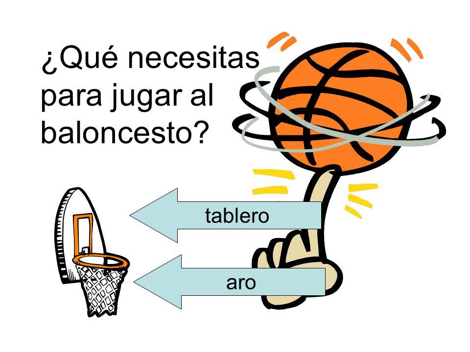 ¿Qué necesitas para jugar al baloncesto
