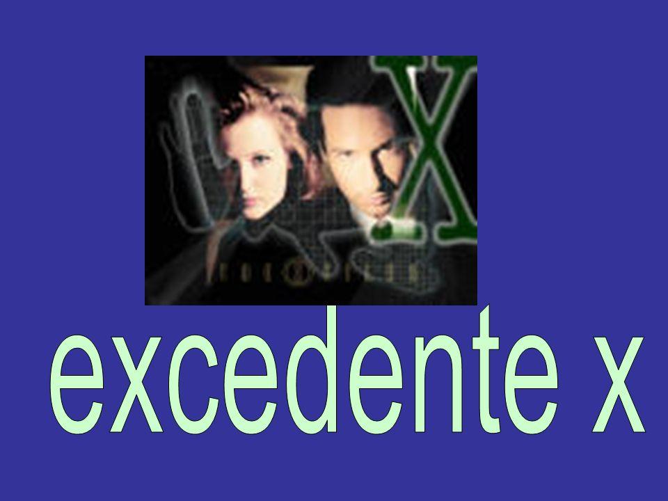excedente x