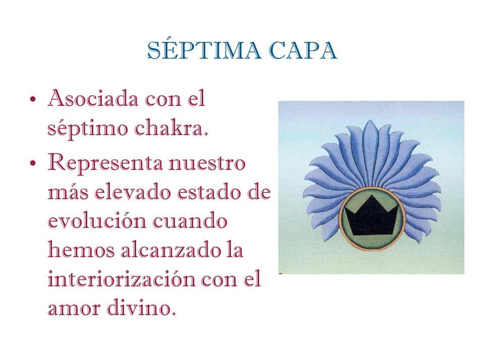 SÉPTIMA CAPA Asociada con el séptimo chakra.