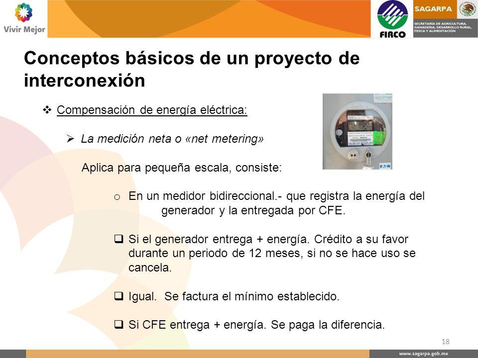 Conceptos básicos de un proyecto de interconexión