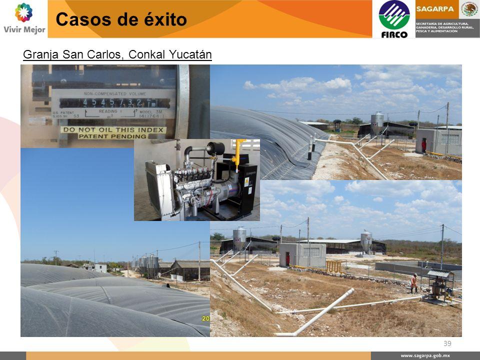 Casos de éxito Granja San Carlos, Conkal Yucatán