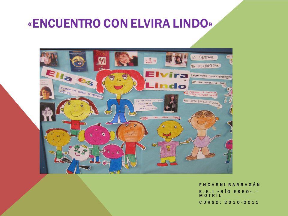 «Encuentro con Elvira Lindo»