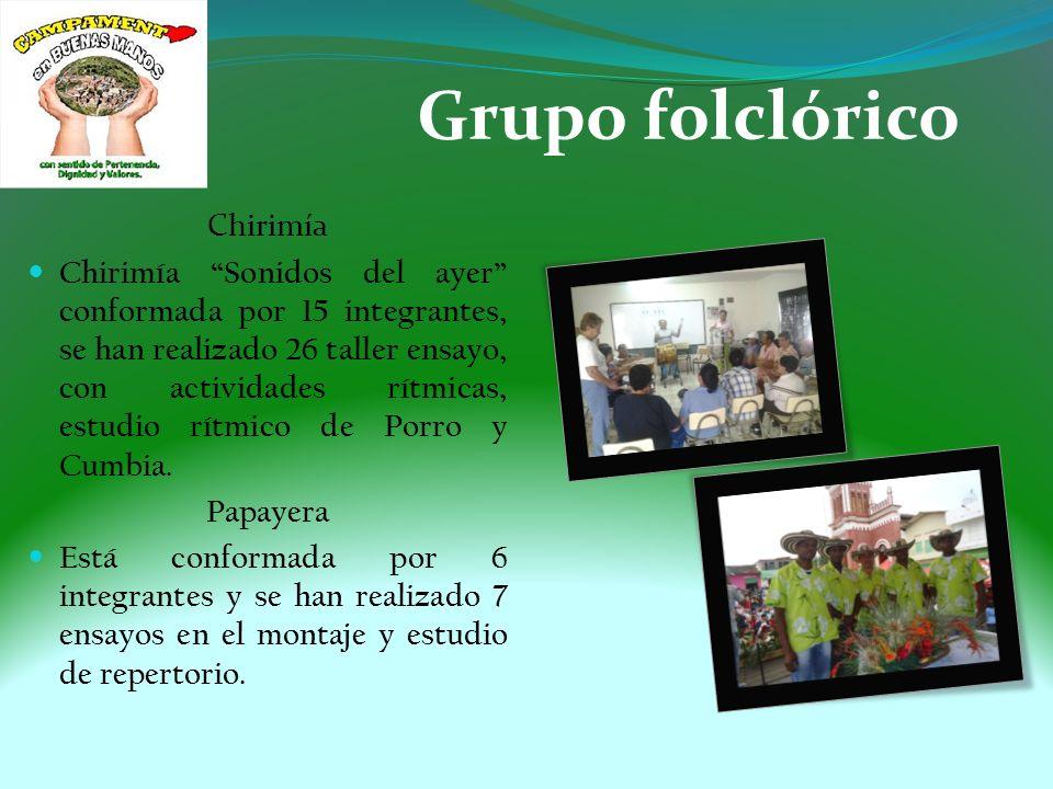 Grupo folclórico Chirimía
