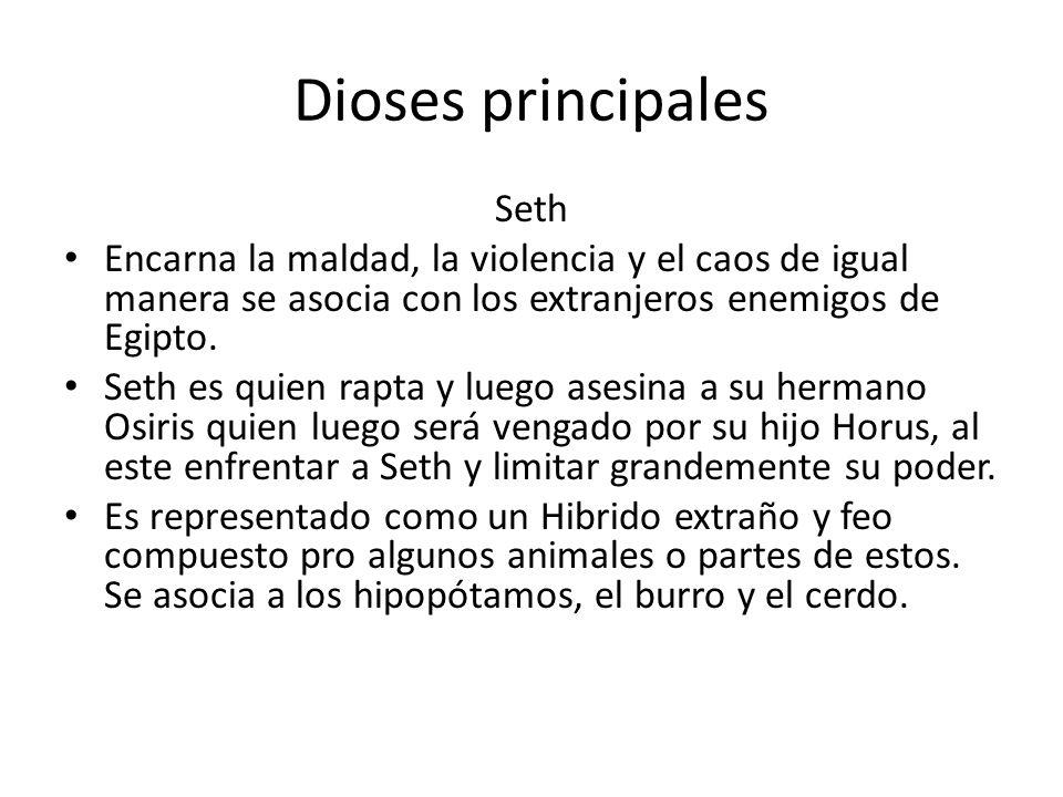 Dioses principales Seth