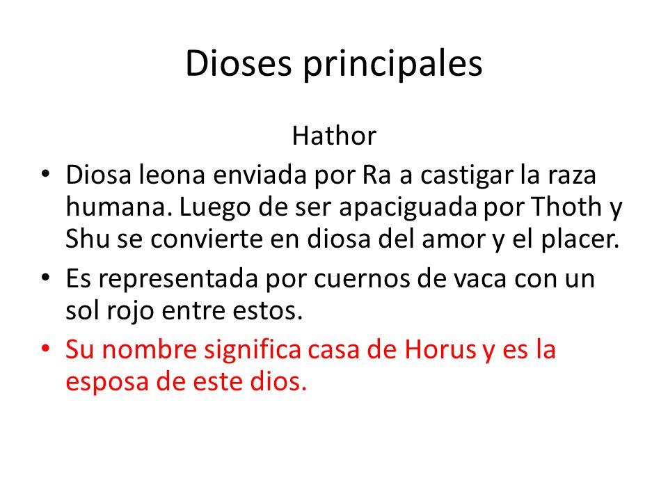 Dioses principales Hathor