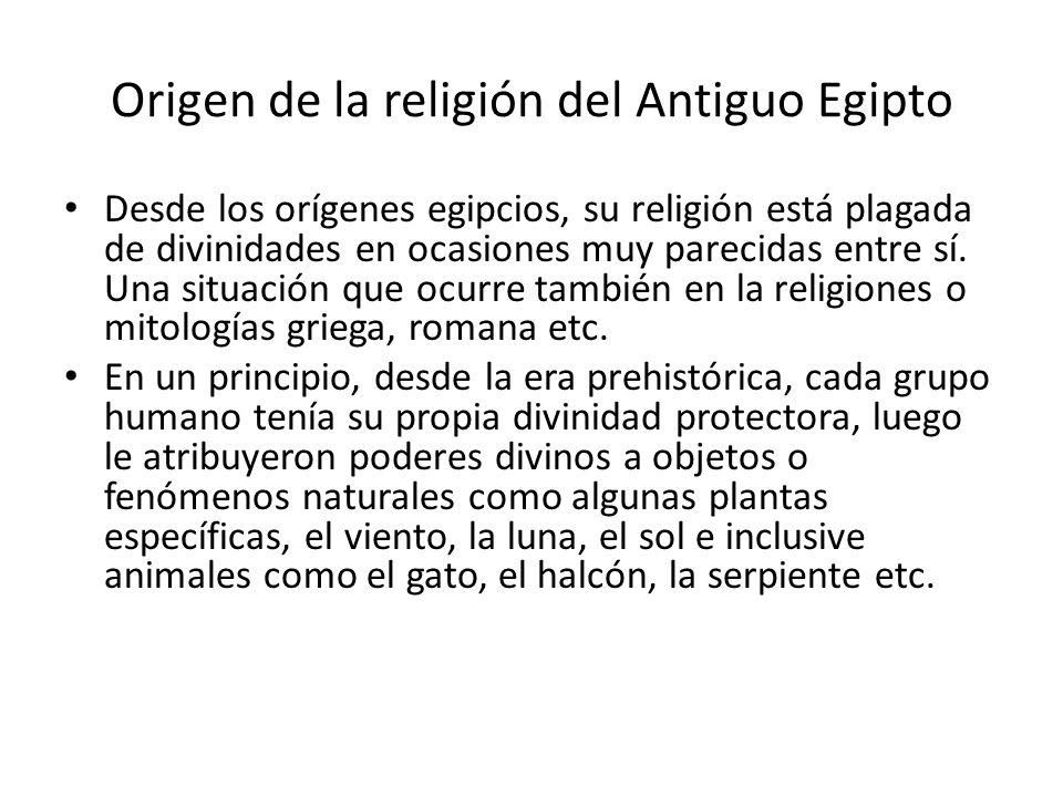Origen de la religión del Antiguo Egipto