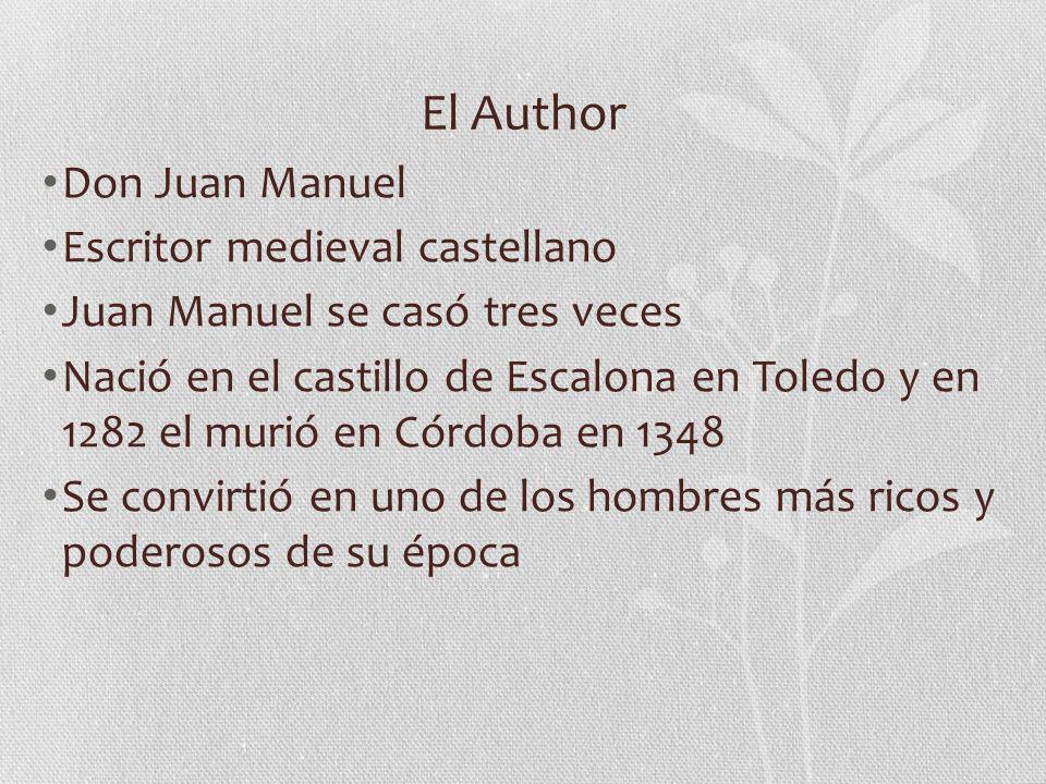 El Author Don Juan Manuel Escritor medieval castellano