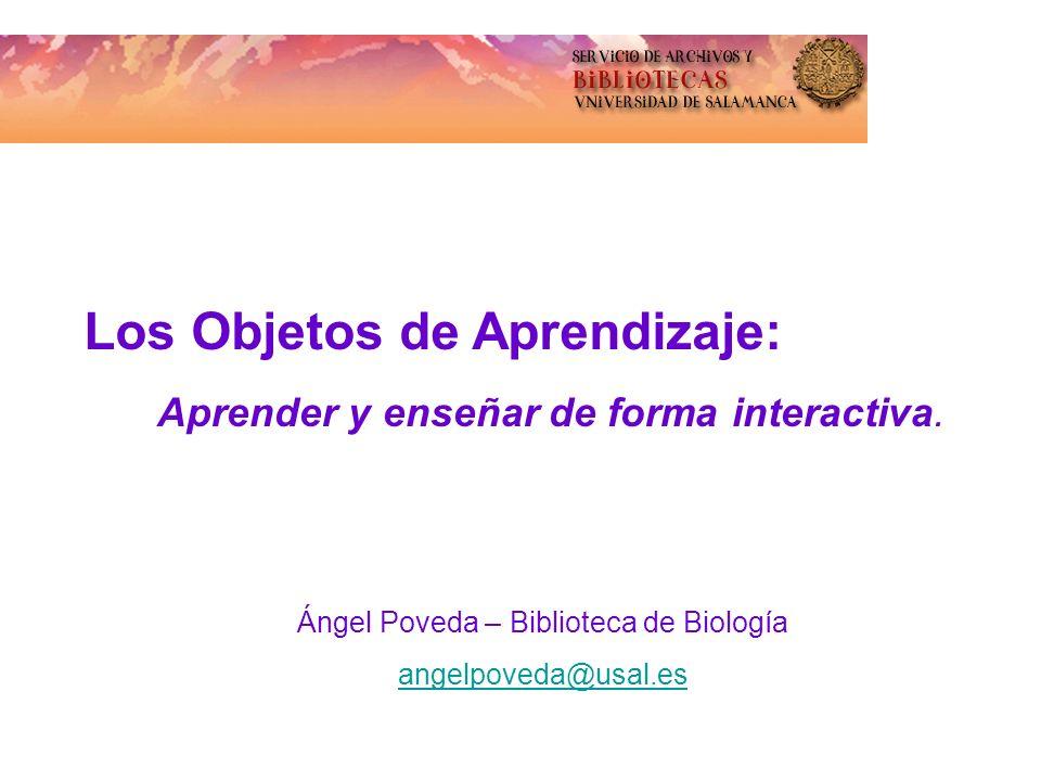 Ángel Poveda – Biblioteca de Biología