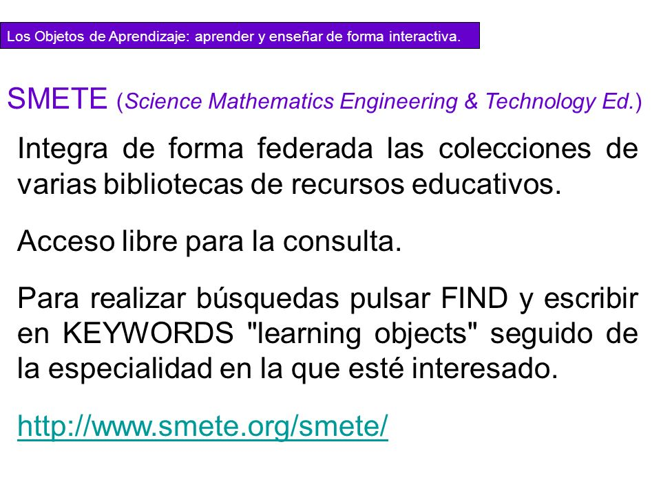 SMETE (Science Mathematics Engineering & Technology Ed.)