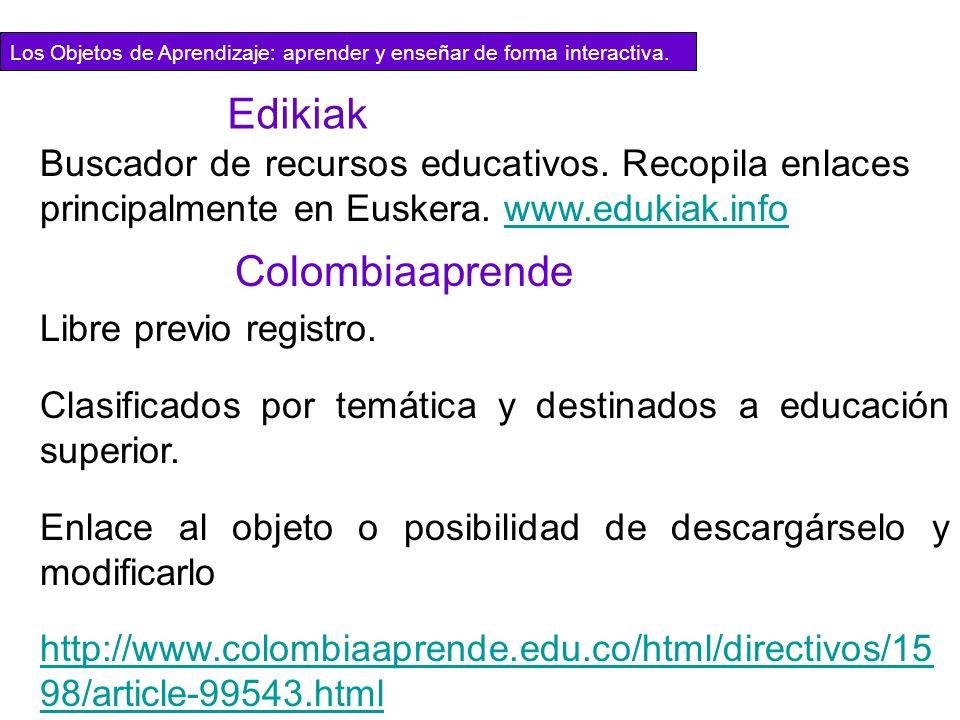 Edikiak Colombiaaprende