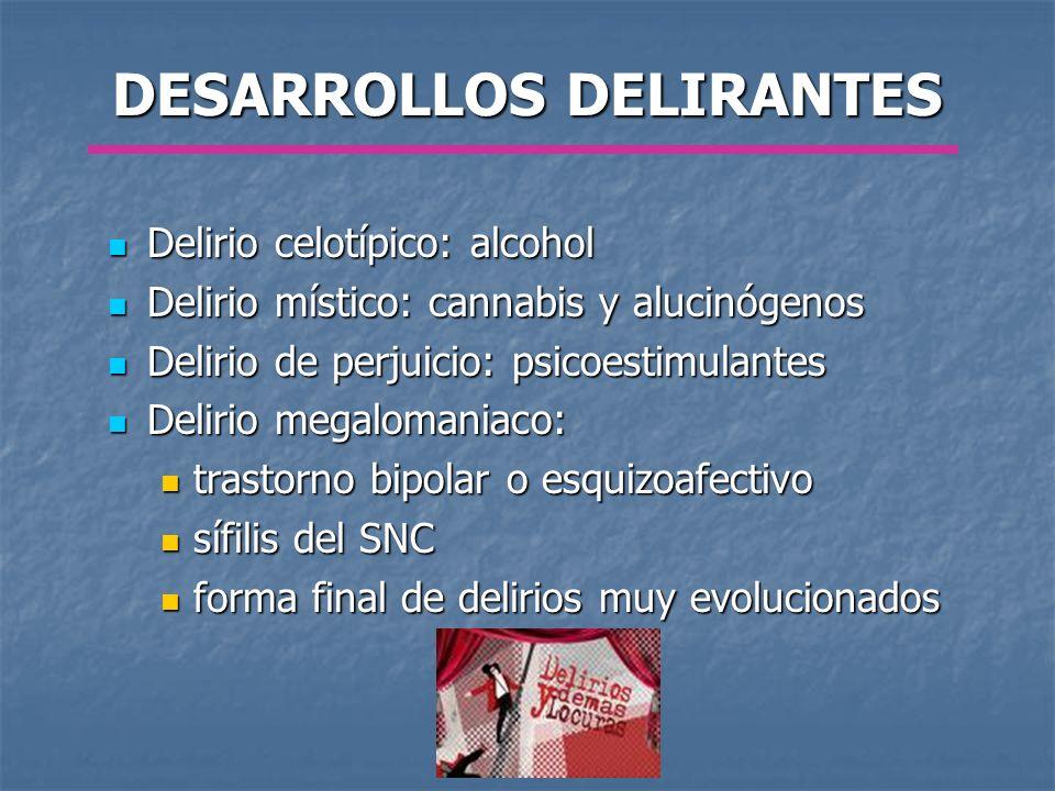 DESARROLLOS DELIRANTES