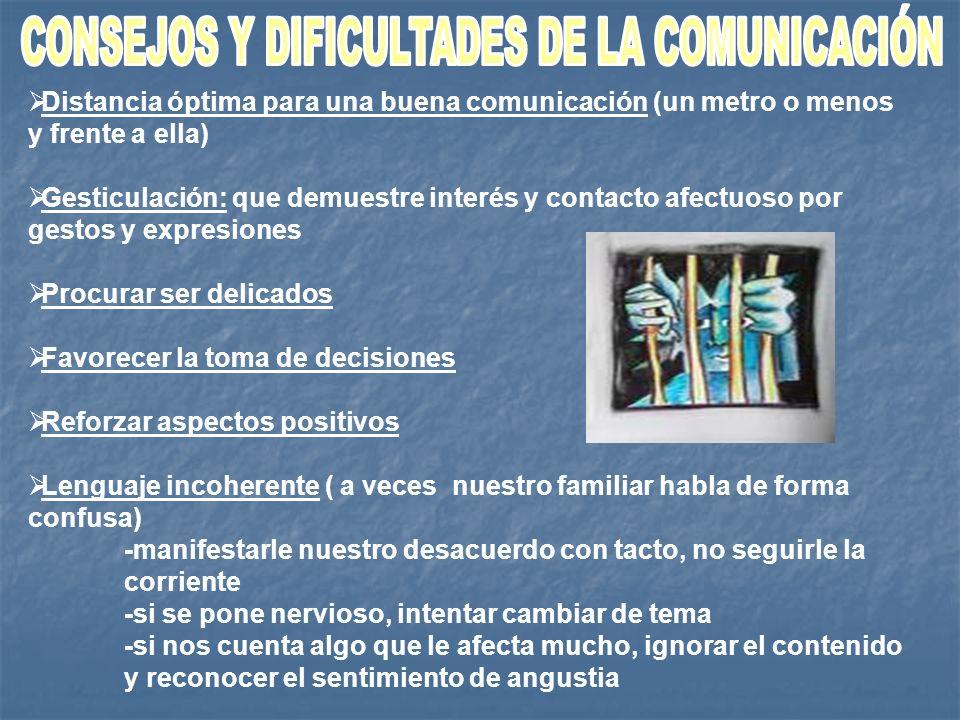 CONSEJOS Y DIFICULTADES DE LA COMUNICACIÓN