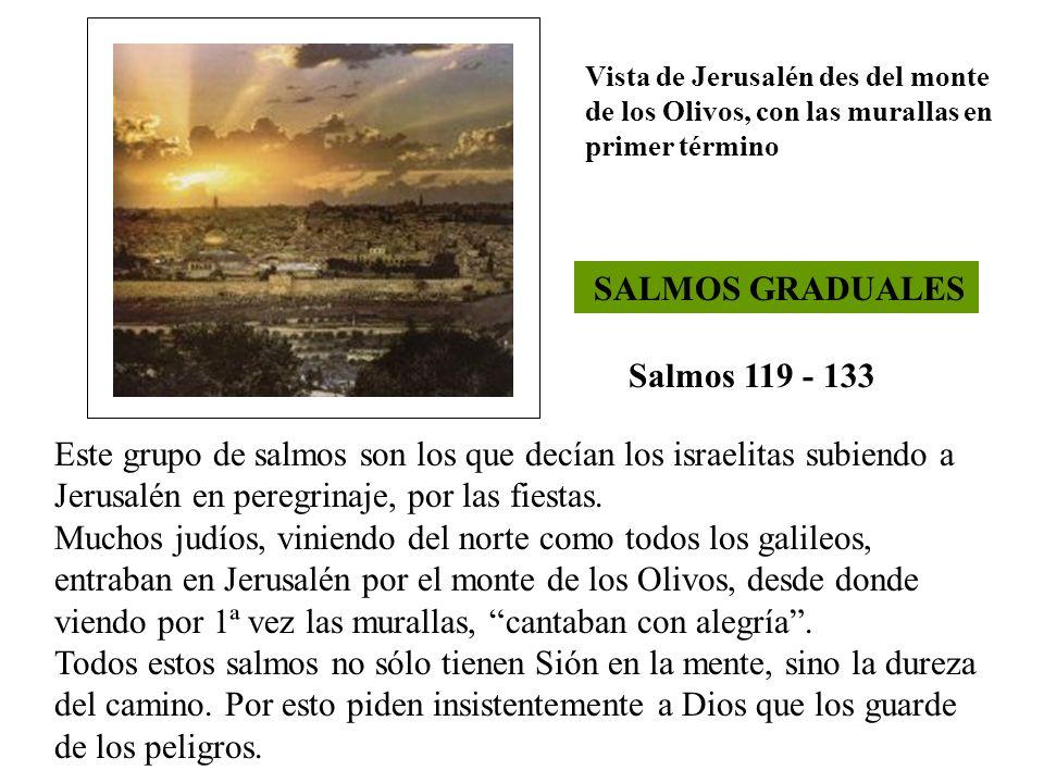 SALMOS GRADUALES Salmos 119 - 133